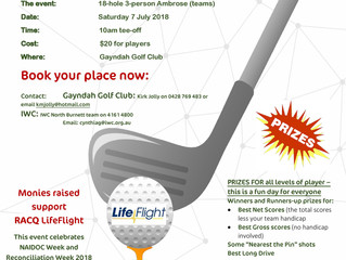 Community gets behind Charity Golf Day