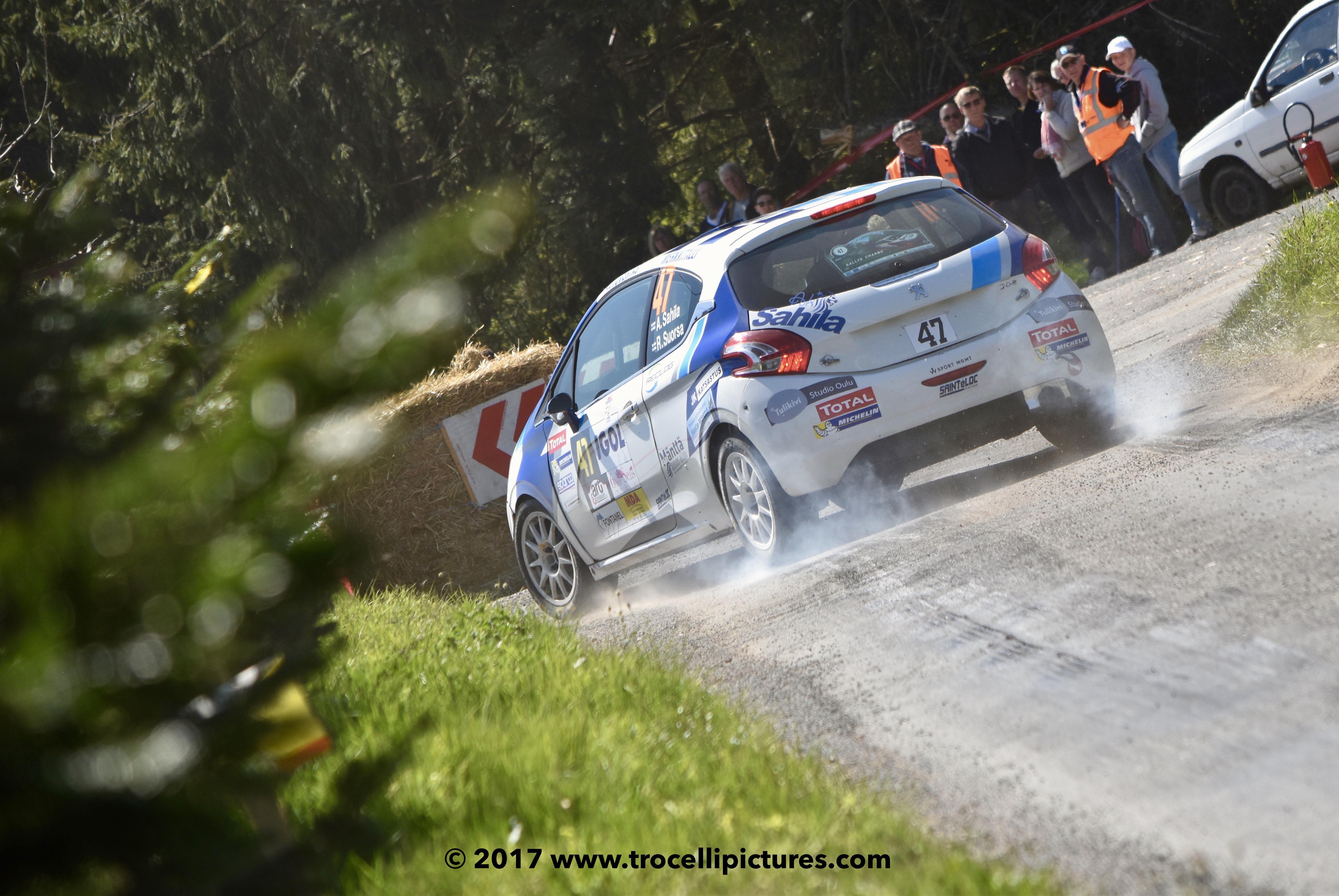 Rallye Lyon-Charbonnières 2017