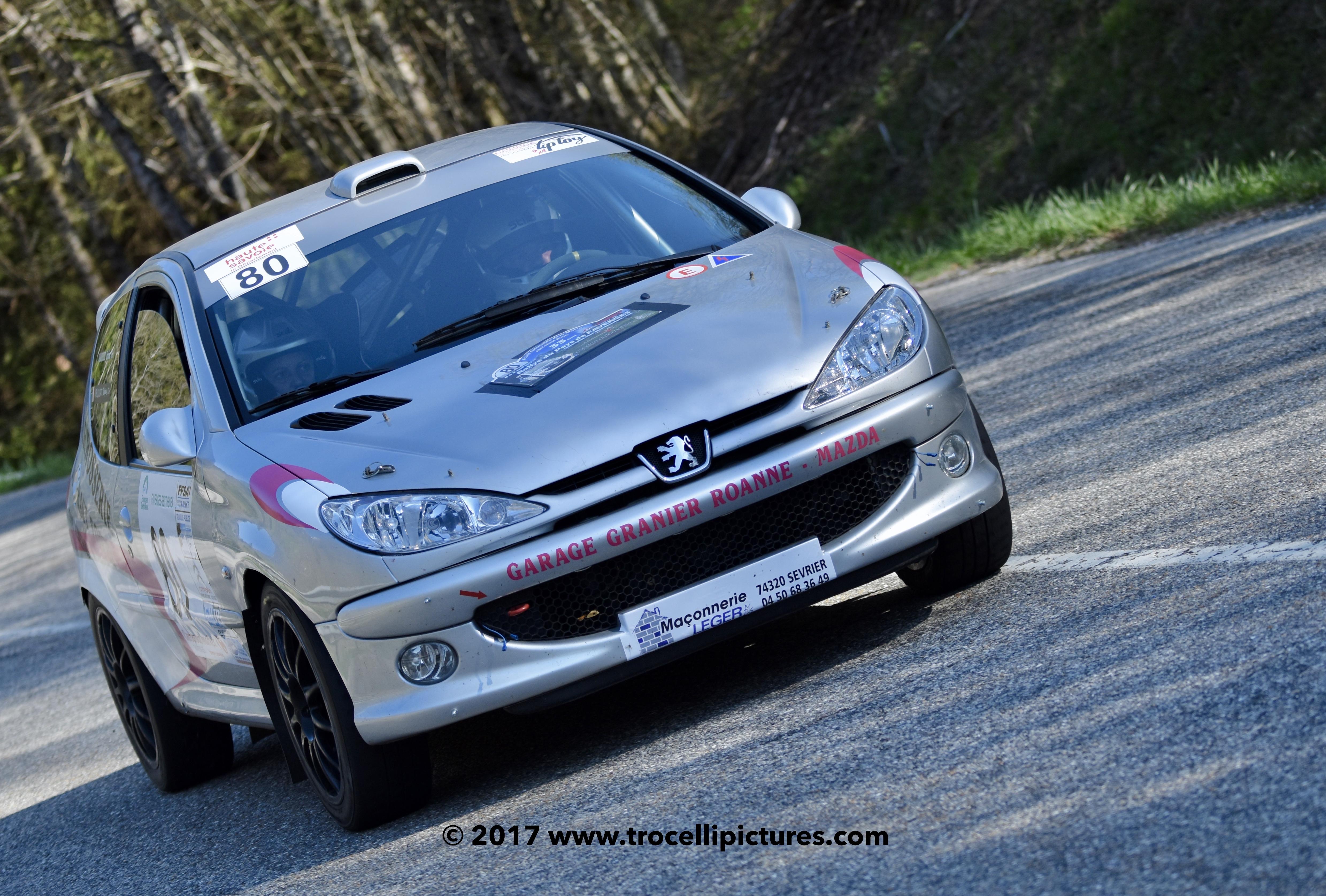 Rallye du Pays de Faverges 201775