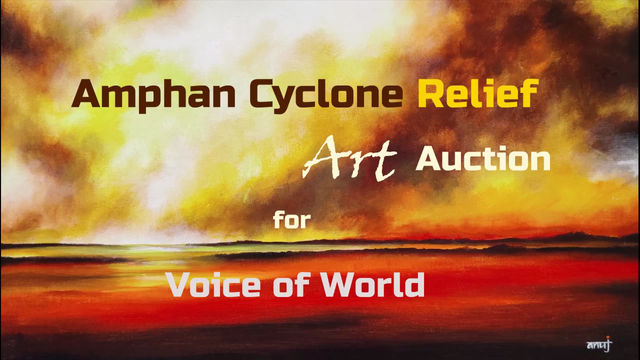 Paintings by Anuj Malhotra (IIT, KGP Alumni) auctioned as Amphan relief for 'Voice of World'