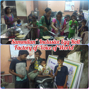 """""""Sammilan"""" Inclusive Egg Roll Factory operating full steam at 'Voice of World"""