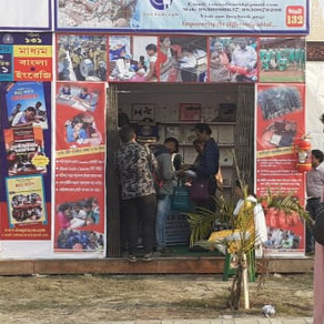 'Voice of World' puts up stall at the Kolkata International Book Fair, 2020