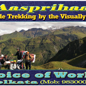 """News about """"High Altitude Trekking by the Differently-abled"""" published in The Telegraph on 14/5/19"""