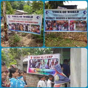 Medical Camp, Disability Awareness & Identification Camp at Shankarpur