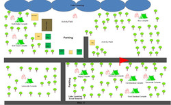 Lake Lovering Site Map