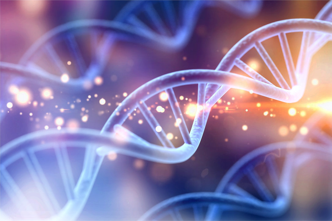 Science Biotechnology DNA illustration a
