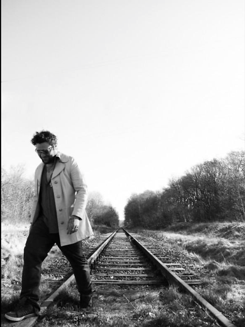 "Bam Margera ""Traintracks"""
