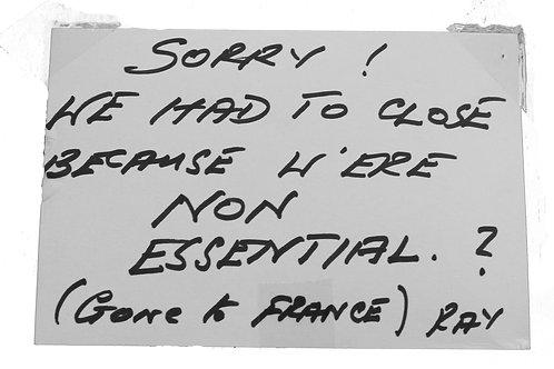 Motivational Postcard