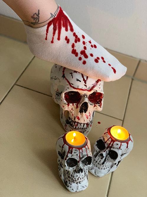 Marie's Halloween Socks 2019