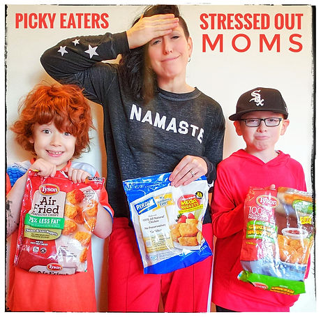 Picky Eaters Stressed Out Moms