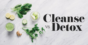 Cleanse vs. Detox: What's the Difference?