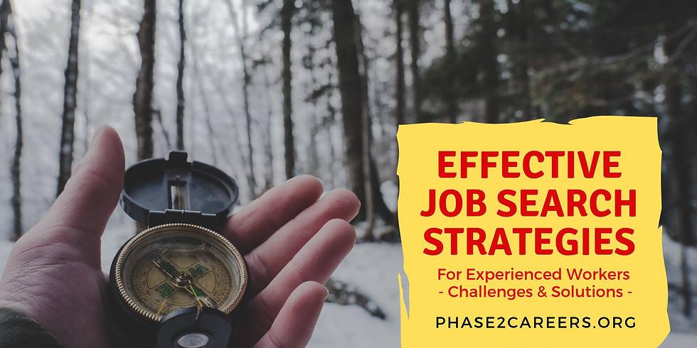 Effective Job Search Strategies