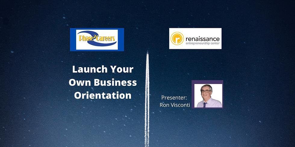 Kick Start Your Business Orientation