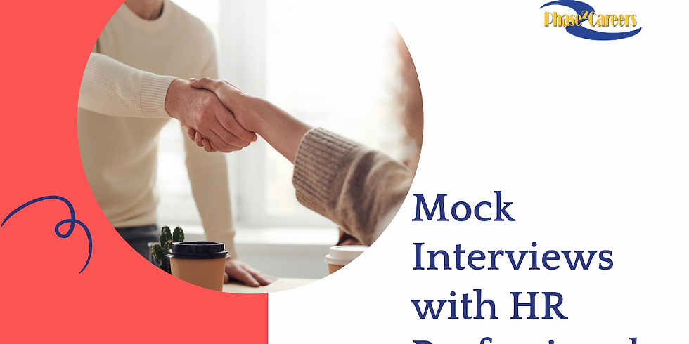 Mock Interview with HR Professionals