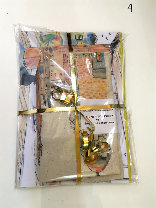 bag and notebook set