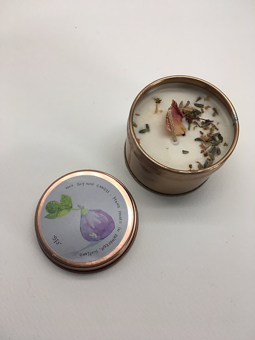 Fig  vegan soy wax candle