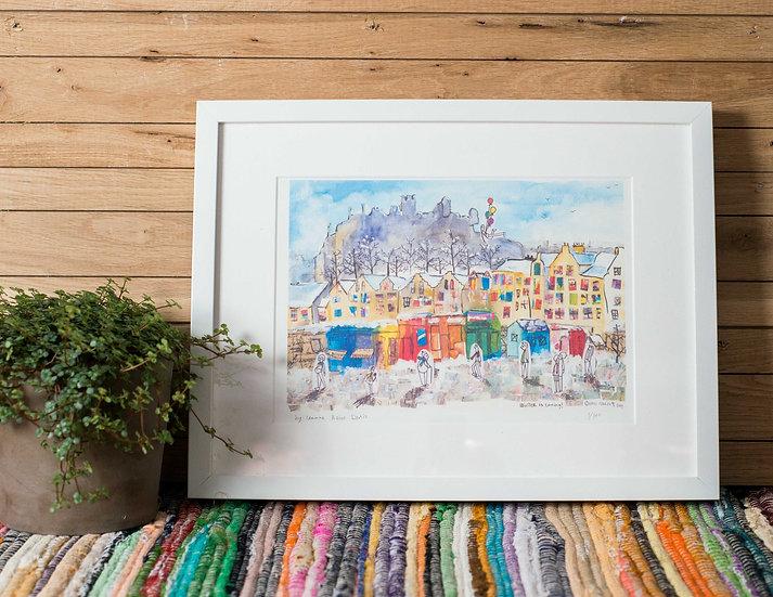 Grass market print