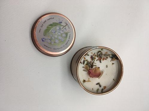 Jasmine vegan soy wax candle
