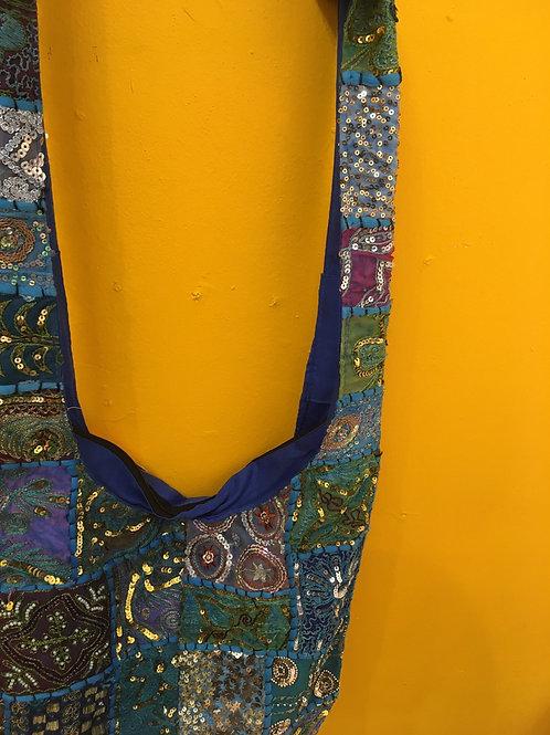 Embroidered  fair trade bag