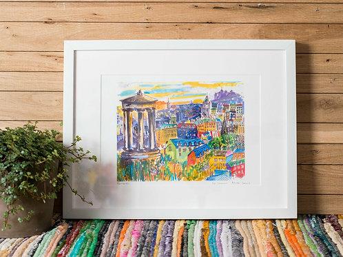 Carlton hill print