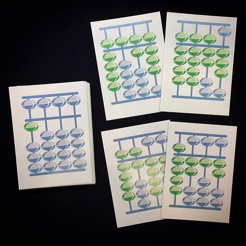 Флеш-карты от 1000 до 9999 всего 53 штуки