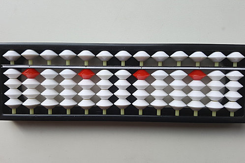 Счеты 13 рядов белый с красным