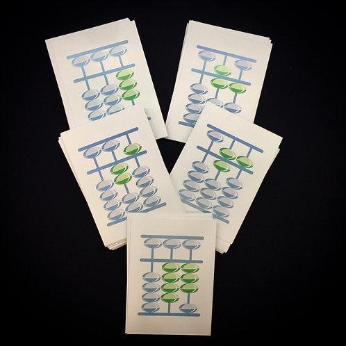 Флеш-карты Микс-2 от 100 до 9999. Под заказ