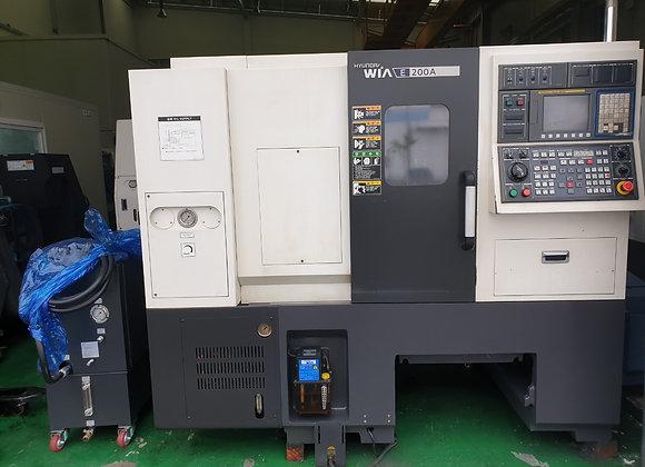 현대위아 2011년식 6인치 CNC선반 E200A