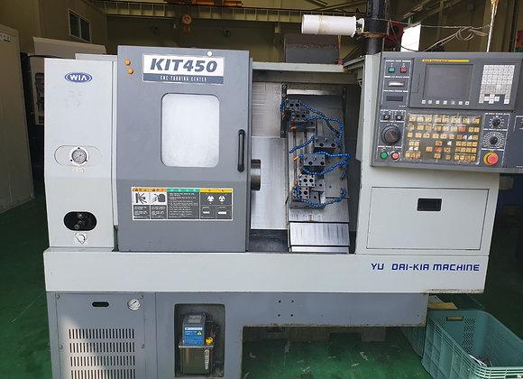 현대위아 2006년식 6인치 CNC선반 KIT450