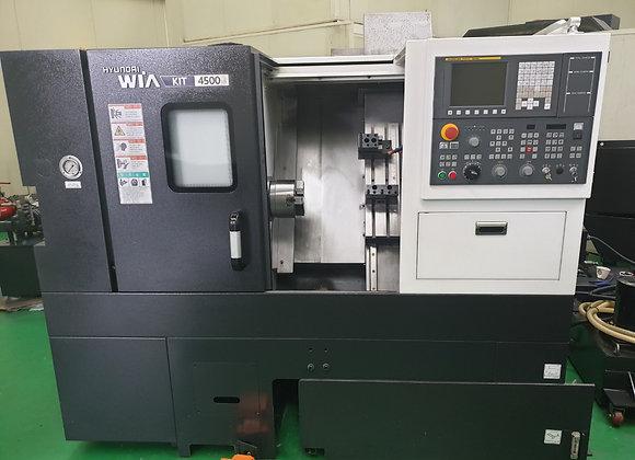 현대위아 2017년식 6인치 CNC선반 KIT4500