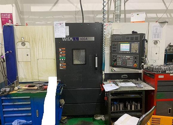 현대위아 2012년식 10인치 CNC선반 L300A