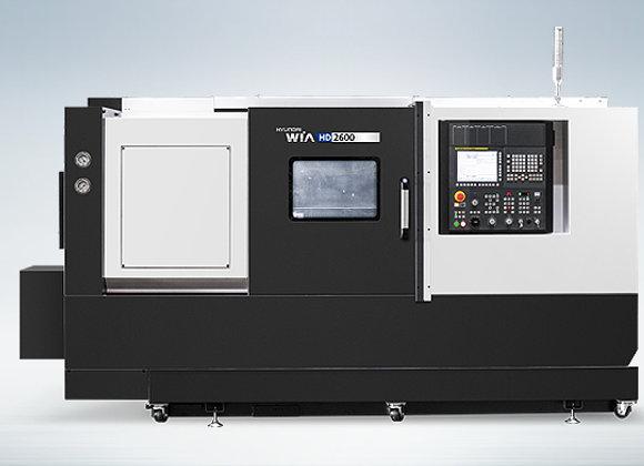 현대위아 2019년식 10인치 CNC선반 HD2600