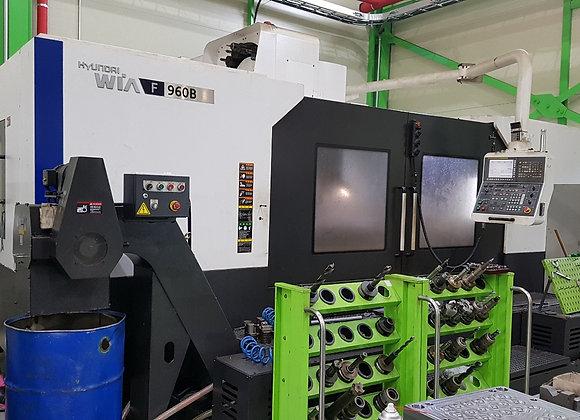 현대위아 2014년식 9.5호 머시닝센터 F960B