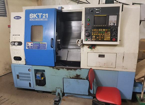 현대위아 2002년식 8인치 CNC선반 SKT21