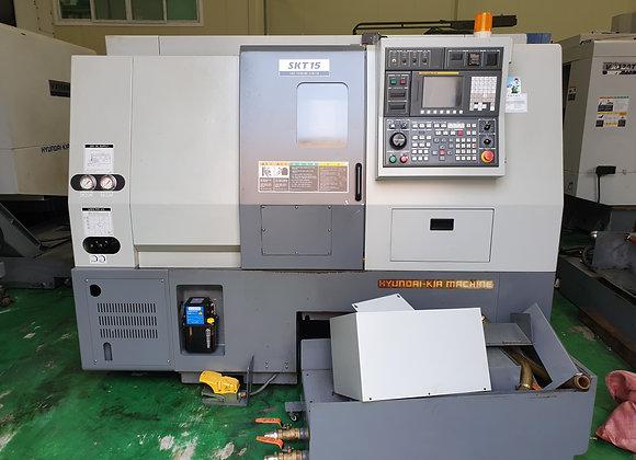 현대위아 2011년 6인치 CNC선반 SKT15