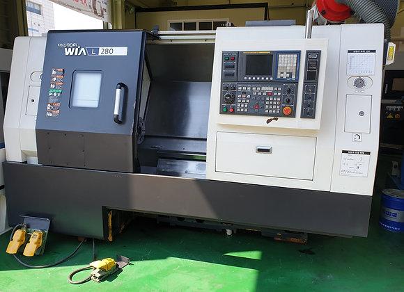 현대위아 2013년식 10인치 CNC선반 L280
