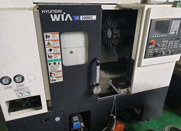 현대위아 2019년식 8인치 CNC선반 SE2000C