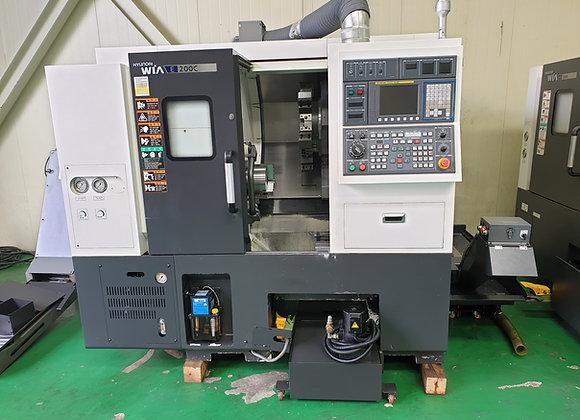 현대위아 2014년식 8인치 CNC선반 E200C
