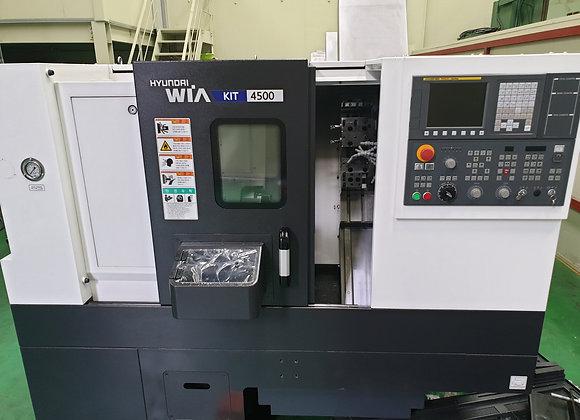 현대위아 2019년식 6인치 CNC선반 KIT4500
