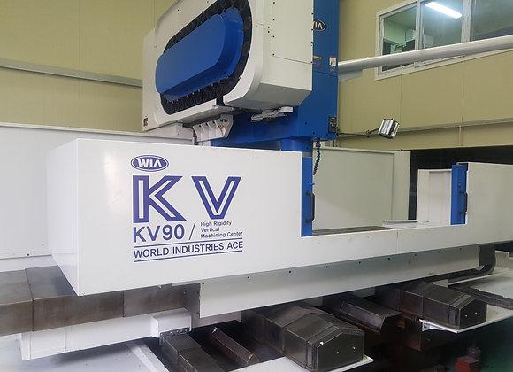 현대위아 2004년식 9호 머시닝센터 KV90 (X축확장형 2450)