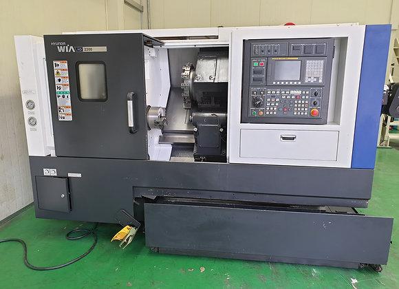 현대위아 2016년식 8인치 CNC선반 HD2200