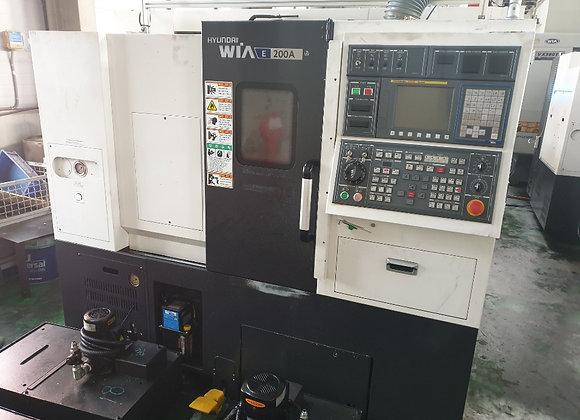 현대위아 2016년식 6인치 CNC선반 E200A