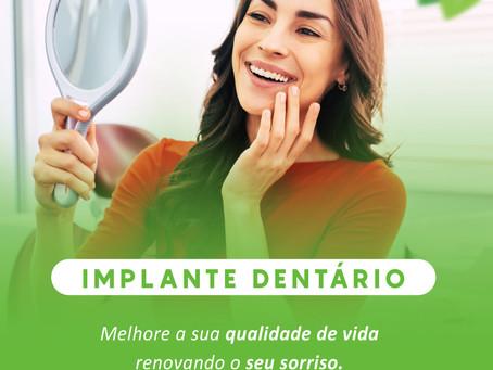 Vamos falar sobre : Implante dentário
