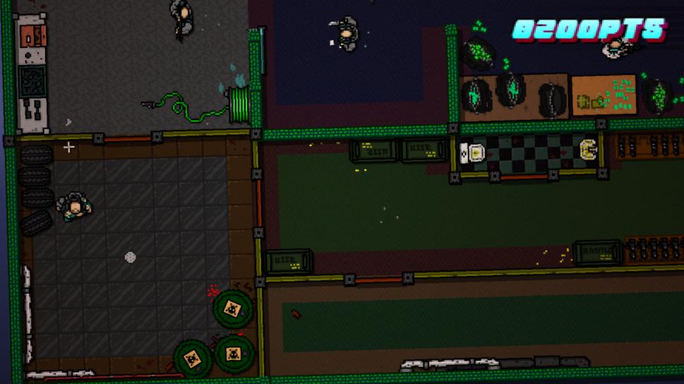 The basement bunker: