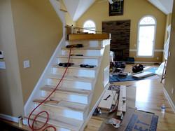 BEFORE Interior Stairwell Work