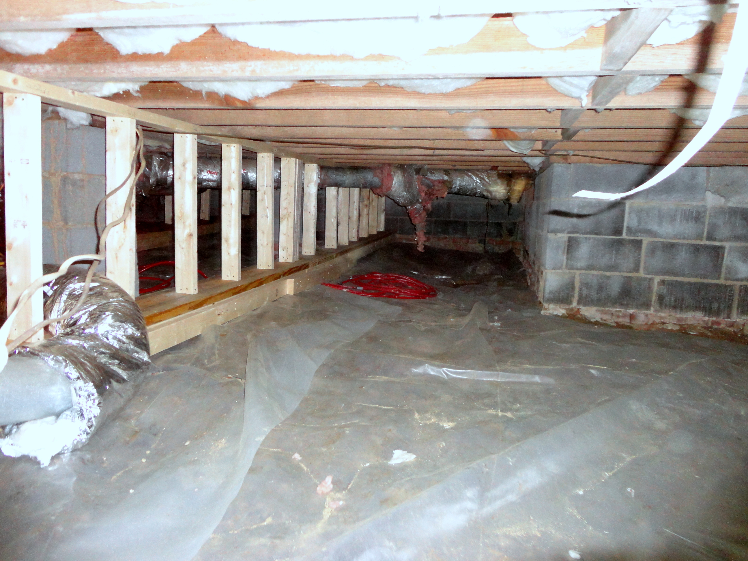 Reinforced Crawl Space