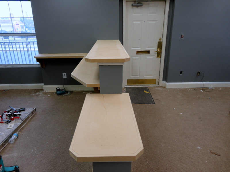 BEFORE Desk Area