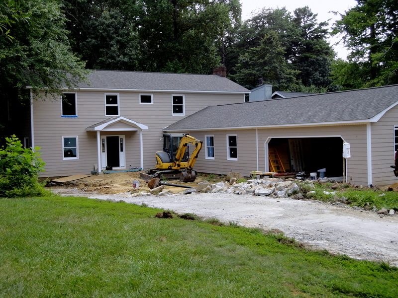 BEFORE Exterior Construction