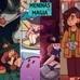 Meninas e Magia - O Livro de Colorir