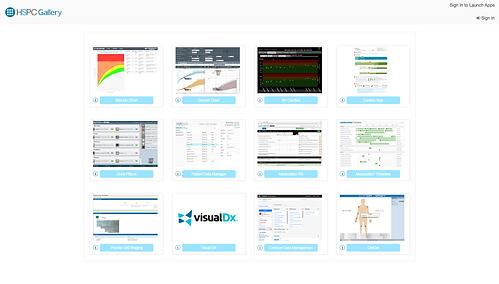 HSPC Gallery | Gallery of SMART on FHIR apps